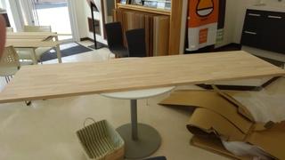 テーブル造作①
