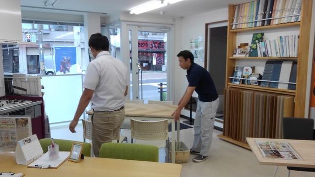 テーブル造作②