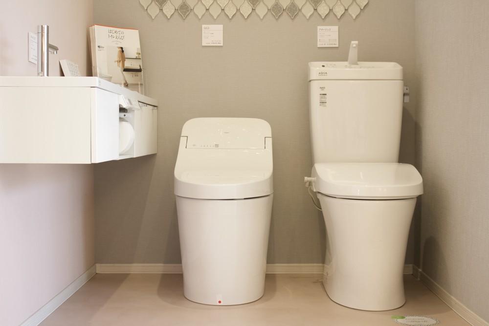 トイレの展示が増えました!