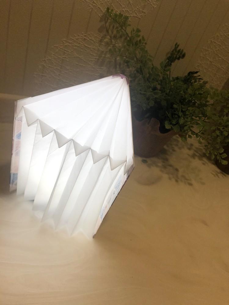 簡単に作れるブック型ライト(*^-^*)