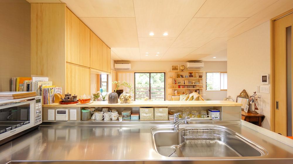 キッチンのオリジナル調味料収納