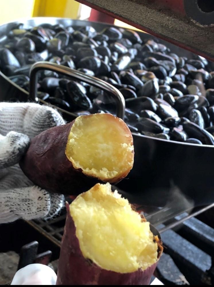焼き芋の試作