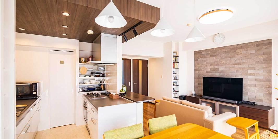 昭和区の施工事例 風通しのよい家