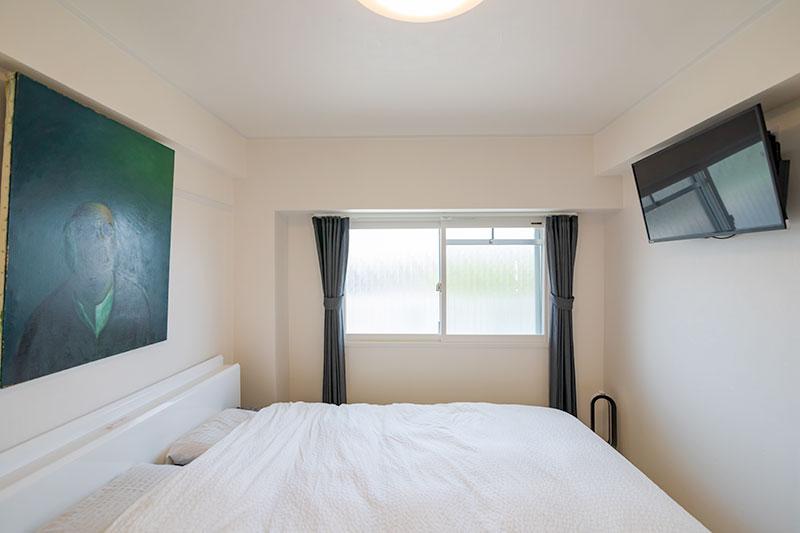 ホテルのように寛ぐ寝室