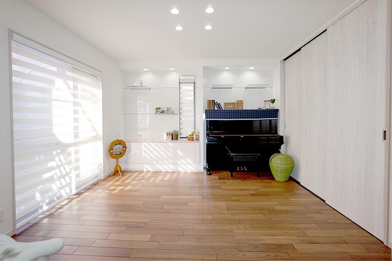 みよし市の施工事例 物置スペースになっていた和室から客室へ