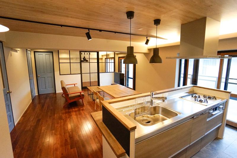名古屋市天白区の施工事例 家に居ながらカフェの雰囲気を味わう