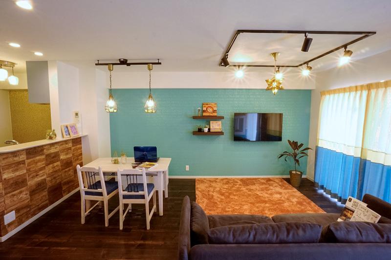 名古屋市緑区の施工事例 憧れのカフェ&ヴィンテージデザインで統一したマイホーム